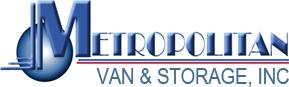 Metropolitan Van & Storage Logo